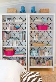 Cute DIY bookcases