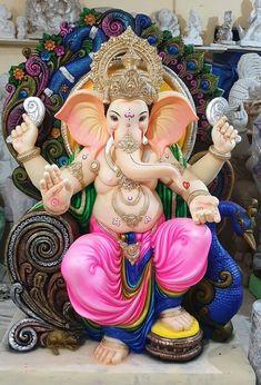 Ganesh Pic, Ganesh Lord, Ganesh Idol, Jai Ganesh, Shri Ganesh Images, Shiva Parvati Images, Ganesha Pictures, Clay Ganesha, Ganesha Art