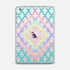 Diamond Rainbow Ikat Quatrefoil iPad Mini Case by Organic Saturation | Casetify. Make yours and get $10 off using code: 53ZPEA