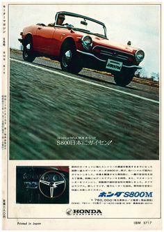 Honda S800M - adv