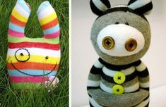 Sockk doll inspiration... Cutest Sock Doll Making...Go Back To Childhood