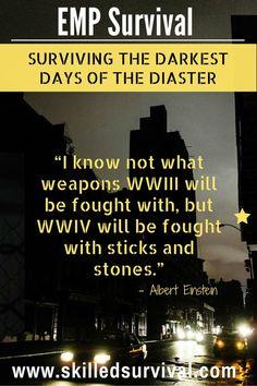 EMP Survival: Surviving The Darkest Days Of Disaster #prepper #survival