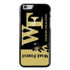 Wake Forest Demon Deacons Phonecase For iPhone 6/6S Case Brand new.Lightweight, weigh approximately 15g.Made from hard plastic, also available for rubber materials.The case only covers the back and corners of your phone.This case is a one-piece case that covers the back and sides of the phone. There is no front for the case.This is a non-peeling nor a non-fading print. Meaning, over time it will continue to look just as amazing as it did when you first received it.