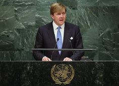 King Willem Alexander and Queen Maxima at Annual UN General Assembly