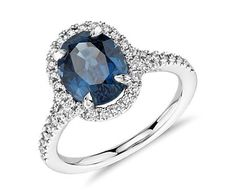 Blue Sapphire Ring. Gorgeous.
