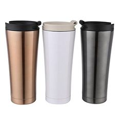 364c75f9981 Best Quality - Vacuum Flasks & Thermoses - 500ml Car Coffee Mug Double Wall  Stainless Steel Insulated Vacuum Thermos Cup Travel Tea Water Thermal  Bottle ...