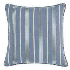We love the sweet stripe of this vintage-inspired throw pillow. | $33