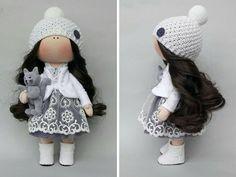 Fabric doll Tilda doll Rag doll Textile doll by AnnKirillartPlace