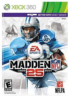 Madden NFL 25 [PlayStation On the cover - Madden Cover Vote winner, Barry Sanders Detroit Lions Madden Games, Madden Nfl, Xbox 360 Games, Playstation Games, Ea Sports, Sports Games, Sports News, Microsoft, But Football