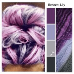 """Lily - Entry by Amy in the """"Colleen: Match This Wrapsody!"""" Colorway Haircolor Contest. #matchthiswrapsody #wrapsodybaby"""