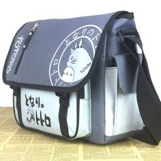 My Neighbor Totoro Canvas Messenger Bag Anime Studio Ghibli Shuolder School Bag Messenger Bags For School, Messenger Bag Backpack, Canvas Messenger Bag, Anime Cosplay, Cartoon Mode, Totoro Backpack, Totoro Merchandise, Anime Merchandise, Cool Gifts For Kids