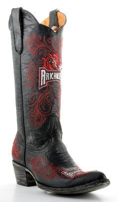 Women's Razorbacks boots!