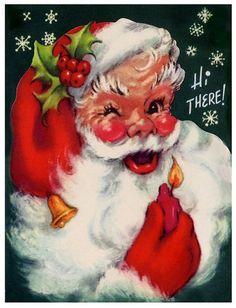 Old Santa Claus | vintage santas