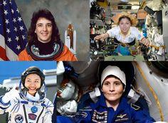 Geballte Frauenpower: Insgesamt 33 #Raumfahrerinnen waren seit 1998 auf der #ISS! Frischer Eintrag im Blog: http://www.issonduty.com/#post14
