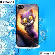 Cheshire Cat Alice in Wonderland iPhone 4 Case iPhone 4s Case Cover