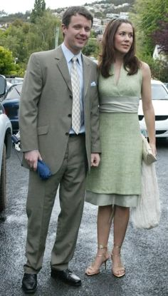 Mary and Frederik attended the wedding of Patricia Woods and Scott Bailey.