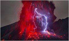 Sakurajima Volcano by Martin Rietze