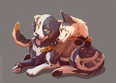 (Open role play) Hi I'm Sugarbutter and this is my boyfriend Kovo. But some other wolves are teasing me cause my boyfriend is a dog and I'm a wolf so I need a friend who can support me.