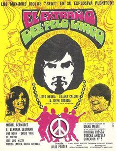 El extraño del pelo largo - 1970