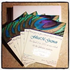 PRINTABLE Swanky Peacock Bridal Shower by UrbanFrontiers on Etsy ...