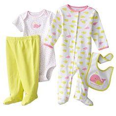Carter's Whale Sleep & Play Set - Baby girl