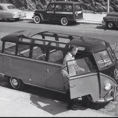 Rare VW 23-Window Bus.