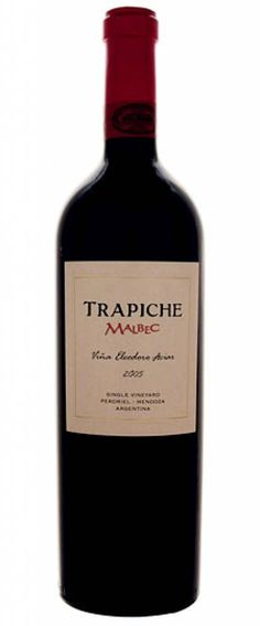 2005  Trapiche  Vina Fausto Orellano Malbec $36,83 Incl. Tax