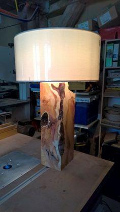 Lampe 1. par fredexposito sur L'Air du Bois