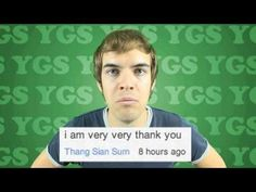 Youtube Challenge Day #4: my most recent discovery are Jackfilms's Your Grammar Sucks videos. (YGS)