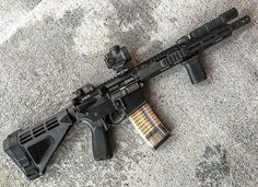 """Firearm"" over 26 inches Weapons Guns, Guns And Ammo, Ar 15 Builds, Ar Pistol, Real Steel, Submachine Gun, Custom Guns, Assault Rifle, Pew Pew"