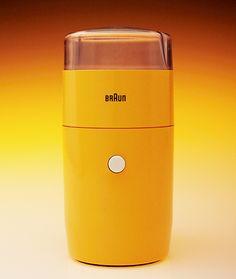 Braun coffee grinder