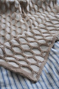First outing Afghan for baby pram - available as a vintage pattern