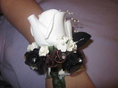 Special Occasion Wrist Corsage by SourAppleProductions on Etsy, $16.99