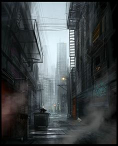 Image result for misty ny alleys