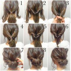 Braided bun tutorial by freida