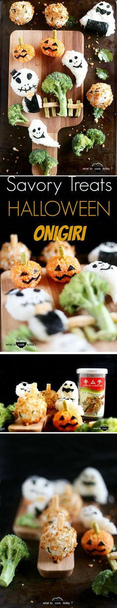 Make this fun rice balls (onigiri) for your kids' lunch box or even for yourself :)