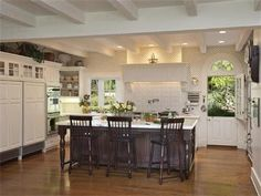 Santa Barbara Real Estate & luxury homes for sale in Montecito, Goleta and Hope Ranch. Santa Barbara open houses, market reports, local agents & more. Santa Barbara Real Estate, Estate Homes, Luxury Real Estate, Open House, Luxury Homes, Porches, Kitchen, Table, Furniture