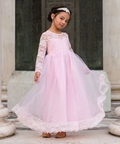 fc29df6452c7 Just Couture Light Pink Isabelle Dress - Toddler & Girls | zulily Toddler  Girl Dresses,
