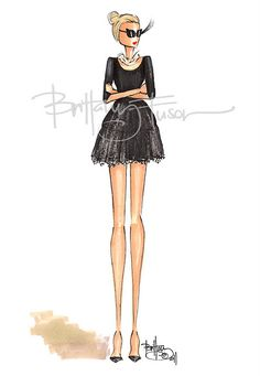 cupcakes & cashmere Sometimes I wish we were having a baby girl instead of baby boy. Brittany Fuson prints would be all Over the nursery. Fashion Dolls, Fashion Art, Girl Fashion, Fashion Outfits, Fashion Design, Ballet Fashion, Fashion Illustration Sketches, Fashion Sketches, Ballet Painting