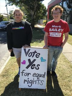 Proud to support marriage equality 😄🌈👍❤️