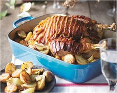 Turkey Champenoise - The perfect recipe for a very traditional Christmas roast! Serve with roasted baby potatoes and onions.