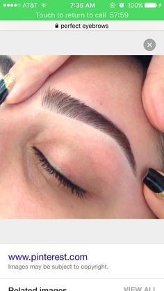 Get eyebrows done                                                                                                                                                                                 More