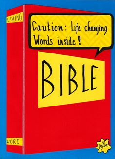 God's Living Word is able to change you from the inside out.   www.facebook.com/TheGoodNewsCartoon