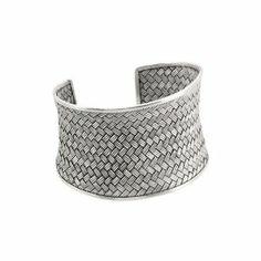 Sterling Silver Cuff Bracelet Katarina. $400.00