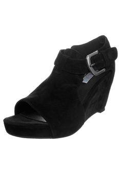 Sandales à talon - noir Talons Hauts Noirs, Sandales À Talons, Chaussure 3b711ba13b8f