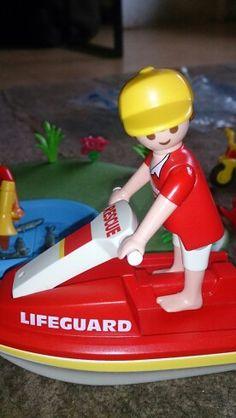 Playmobil Life Guard on Jet Ski