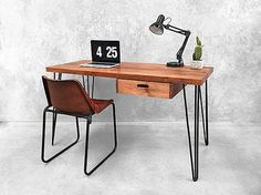 Inspired by mid century retro designs, this Holy Funk hairpin styled desk has a fantastic vintage presence. Bring it into your home today with fast…