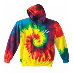 LimitedQuantity available!Ships in 3 - 4 weeks! This embroidered tie-dye hoodie is  These are super limited and there will be only a small number of units pr
