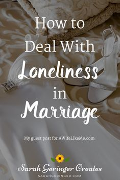 I have learned that loneliness is not cured by marriage. In fact marriage can make loneliness more painful. But I offer you hope and practical encouragement if you feel lonely in your marriage based on 18 years of experience. Save My Marriage, Happy Marriage, Marriage Advice, Lonely Marriage, Broken Marriage, Toxic Relationships, Healthy Relationships, Healthy Marriage, Dealing With Loneliness