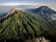 I vulcani più spettacolari del mondo Monte Merapi, Indonesia
